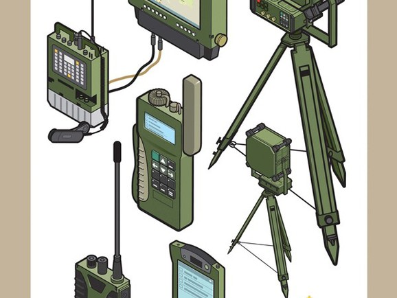 Amazing Technical Illustrations for the Norwegian Army